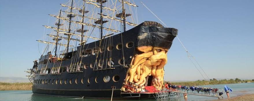 """Экскурсия на яхте ' Барбаросса"""" в Анталии"""